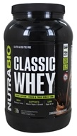 NutraBio - Whey Protein Concentrate Chocolate - 2 lbs.