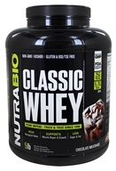 NutraBio - Whey Protein Concentrate Chocolate - 5 lbs.