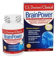U.S. Doctors' Clinical - BrainPower Advanced - 60 Capsules