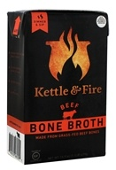 Kettle and Fire - Bouillon d'os de boeuf - 17.6 once.