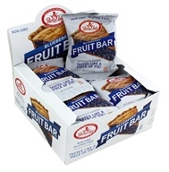 Fruit Bars Box Gluten-Free Blueberry - 12 Bars by Betty Lou's