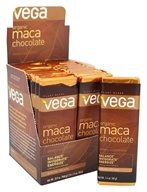 Vega - Organic Maca Chocolate Bar - 24 Bars