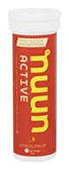 Nuun - Active Natural Electrolyte Enhanced Drink Tabs Citrus Fruit - 10 Tablets
