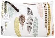 Danica Studio - 100% Linen Cosmetic Bag Pencil Quill - Large
