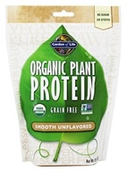 Organic Plant Protein Grain Free Smooth Unflavored - 8 oz.