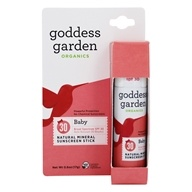 Goddess Garden - Baby Natural Sunscreen Stick 30 SPF - 0.6 oz.