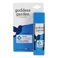 Goddess Garden - Sport Natural Sunscreen Stick 30 SPF - 0.6 oz.