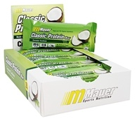 Mauer Sports Nutrition - Classic Protein Bar Coconut Cashew - 12 Bars