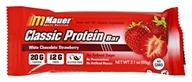 Mauer Sports Nutrition - Classic Protein Bar White Chocolate Strawberry - 2.1 oz.