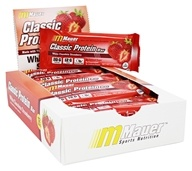 Mauer Sports Nutrition - Classic Protein Bar White Chocolate Strawberry - 12 Bars