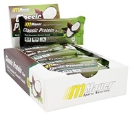 Mauer Sports Nutrition - Classic Protein Bar Dark Chocolate Coconut Crunch - 12 Bars