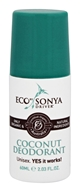 Eco Tan - Eco By Sonya Driver Deodorant Coconut - 2.03 oz.