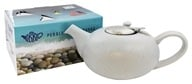 Now Designs - London Pottery Pebble Teapot Light Blue Flecks - 4 Cup(s)