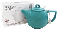 Now Designs - London Pottery Geo Filter Teapot Caribbean - 4 Cup(s)