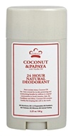 Nubian Heritage - 24 Hour Natural Deodorant Coconut & Papaya - 2.25 oz.