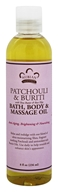 Nubian Heritage - Bath, Body & Massage Oil Patchouli & Buriti - 8 oz.