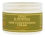 Nubian Heritage - Deep Conditioning Cream Evoo & Moringa - 12 oz.