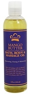 Nubian Heritage - Bath, Body & Massage Oil Mango Butter - 8 oz.