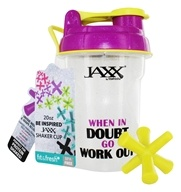 Fit & Fresh - Jaxx Glitter Shaker Cup When In Doubt - 20 oz.