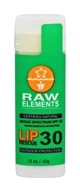Raw Elements - Lip Balm Rescue Broad Spectrum 30 SPF - 0.15 oz.