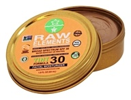 Raw Elements - Tinted Facial Moisturizer 30 SPF - 1.8 oz.