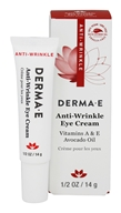 Derma-E - Anti-Wrinkle Vitamin A Eye Cream - 0.5 oz.
