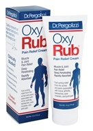 OxyRub - Dr. Pergolizzi Pain Relief Cream - 4 oz.