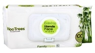 NooTrees - 100% Virgin Ecoluxe Bamboo Pulp Multipurpose Family Wipes - 80 Wipe(s)