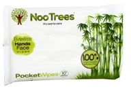NooTrees - 100% Virgin Ecoluxe Bamboo Pulp Pocket Wipes - 10 Wipe(s)