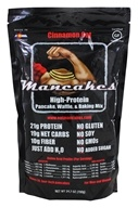 ManCakes - High-Protein Pancake, Waffle, & Baking Mix Cinnamon Oat - 24.7 oz.