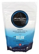 Javazen - Organic Ground Coffee, Loose Tea & Superfood Blend Lo-Caf Relax - 9 oz.