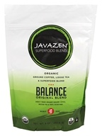 Javazen - Organic Ground Coffee, Loose Tea & Superfood Blend Balance Original Blend - 9 oz.