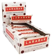 Larabar - Original Fruit & Nut Bar Coconut Chocolate Chip - 16 Bars