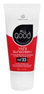 Elemental Herbs - All Good Kid's Sunscreen 33 SPF - 3 oz.