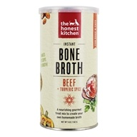 The Honest Kitchen - Instant Bone Broth + Turmeric Powder for Dogs & Cats Beef - 5 oz.