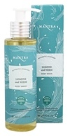 Mantra - Authentic Ayurveda Body Wash Jasmine and Neem - 8.33 oz.