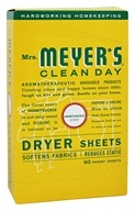 Mrs. Meyer's - Clean Day Dryer Sheets Honeysuckle - 80 Sheet(s)