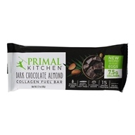 Primal Kitchen - Gluten Free Almond Bar Made with Grass-Fed Collagen Dark Chocolate - 1.7 oz.