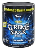 ANSI (Advanced Nutrient Science) - Xtreme Shock N.O. Pro Series Pre-Workout Blue Raspberry Lemonade - 11.3 oz.