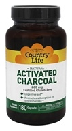 Activated Charcoal 260 mg. - 180 Capsules