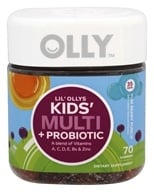 Olly - Lil' Ollys Kids' Multi + Probiotic Yum Berry Punch - 70 Gummies