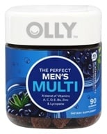Olly - The Perfect Men's Multi Blackberry Blitz - 90 Gummies