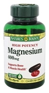 Nature's Bounty - High Potency Magnesium 400 mg. - 75 Softgels
