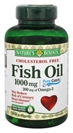 Nature's Bounty - Cholesterol Free Fish Oil 1000 mg. - 145 Softgels