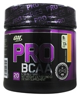 Optimum Nutrition - Pro BCAA Powder & Glutamine Support Peach Mango - 13.7 oz.