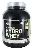 Optimum Nutrition - Platinum Hydro Whey Advanced Hydrolyzed Whey Protein Isolates Chocolate Mint - 3.5 lbs.