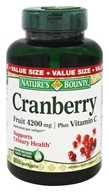 Nature's Bounty - Cranberry Fruit 4200 mg. Plus Vitamin C 40 mg - 250 Softgels