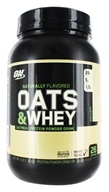 Optimum Nutrition - Natural 100% Oats & Whey Vanilla Bean - 3 lbs.