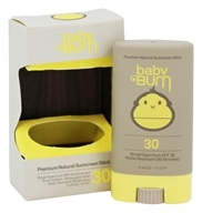 Sun Bum - Baby Bum Premium Natural Sunscreen Stick 30 SPF - 0.45 oz.