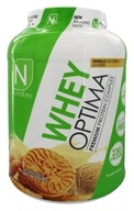 NutraKey - Whey Optima Premium Protein Complex Vanilla Ice Cream Cookie - 5 lbs.
